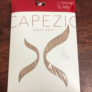 Capezio tan transition tights XXL